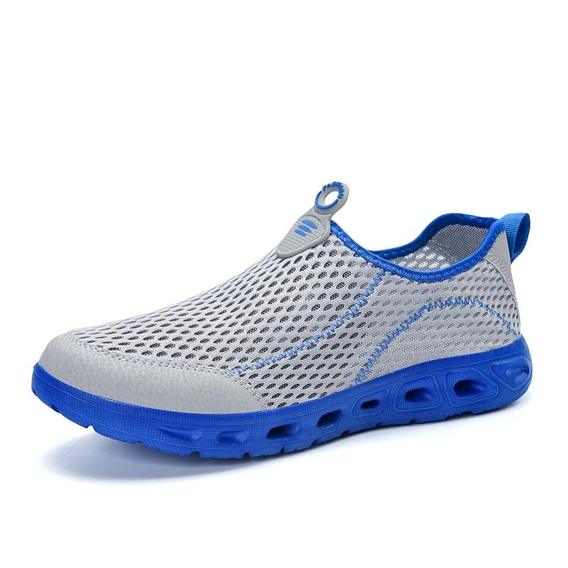 Superlight Running Shoes For Men Summer Breathable Mesh Man Jogging Shoes Slip On Men's Sneakers Comfortable Walking Gym Fitness