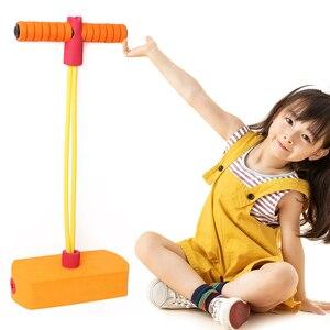 Mousse Pogo bâton cavalier Fitness jouet éducatif enfants intérieur Sports de plein air enfants Portable interactif présent
