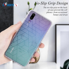 Matte Shockproof Case For Huawei P30 Lite Science Pattern Anti Slip Case for Huawei P20 Lite P20 P30 Pro Mate 20 Pro TPU Cover(China)