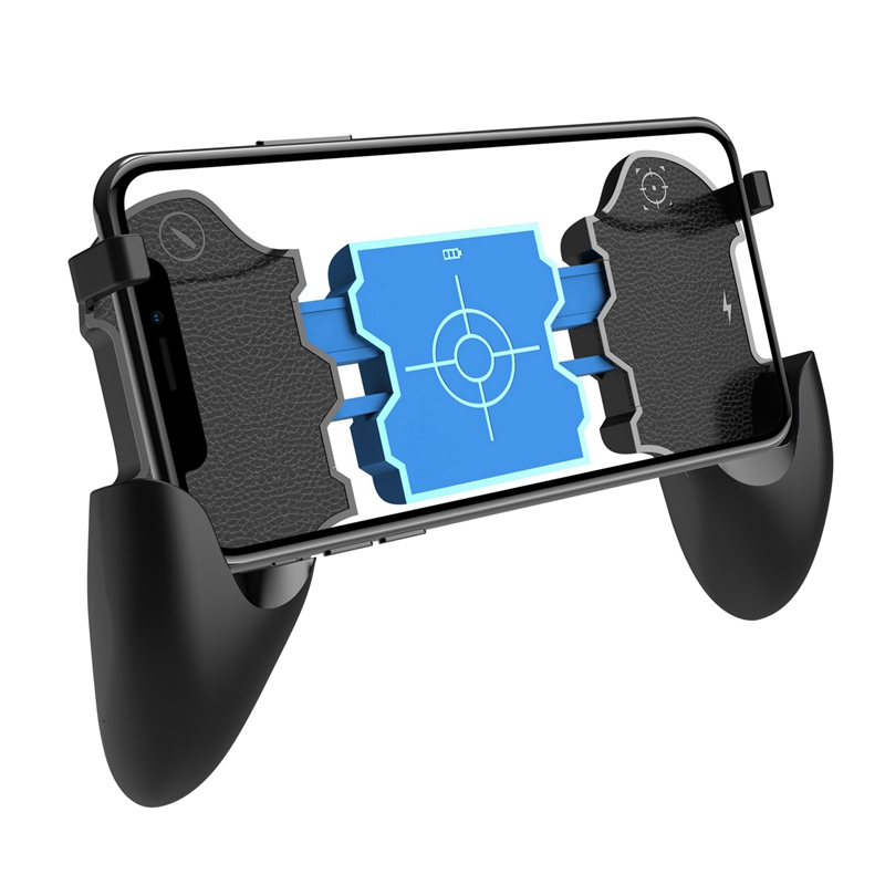 2-In-1 4.2 Bluetooth Pubg Controller Gamepad Controller Shooter Controller With Holder For Ios
