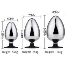 large butt plug prostate massager big anal plug