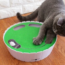 Electric Cat Toy Smart Teasing Stick Cray Game Spinning Turntable Catching Mouse Donut Automatic