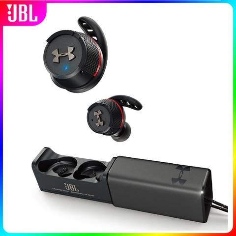 Esportes sem Fio Fones de Ouvido à Prova Chamada com Microfone Original Flash Ture Bluetooth Dgym Água Ginásio Alta Fidelidade Fone Handsfree Case Carregamento Jbl ua
