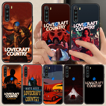 horror movie lovecraft country Phone Case Cover Hull For XIAOMI Redmi 7a 8a S2 K20 NOTE 5 5a 6 7 8 8t 9 9s pro max black bumper image