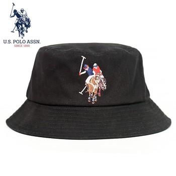 U S POLO ASSN 2021 nowa para kapelusz rybaka bawełna czarny biały cztery pory roku dziki Trend mężczyźni i kobiety kapelusze przeciwsłoneczne tanie i dobre opinie U S POLO ASSN COTTON W stylu rysunkowym Adult CN (pochodzenie) OUTDOOR Unisex Ochrona przed słońcem Campaniform One Size