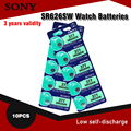 Аккумулятор Sony 1,55 в AG4 SR626, 377, LR626, LR66, SR66, SR626SW, 377A, кнопки, батарейки G4 для гаджетов и часов, 10 шт.