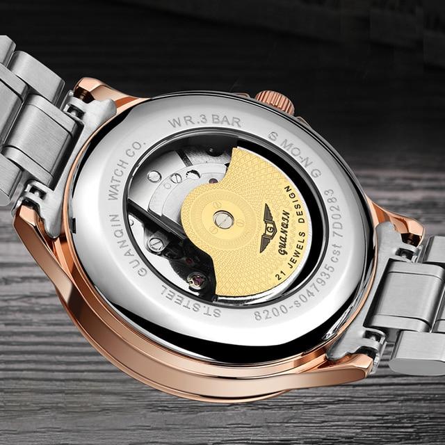 Men's mechanical waterproof watch 4