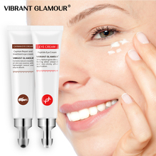 VIBRANT GLAMOUR Eye Cream Peptide Collagen Crocodile Cream Anti-Wrinkle Remover Dark Circles Against Puffiness Bags Eye Care Set