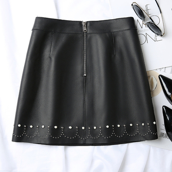 2020 New Fashion Genuine Real Sheep Leather Skirt J11 2020 new fashion real genuine sheep leather skirt g16