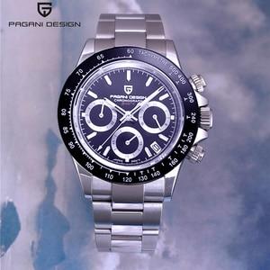 Image 1 - Pagani Ontwerp 2020 Nieuwe Mannen Horloges Quartz Bedrijvengids Horloge Heren Horloges Top Brand Luxe Horloge Mannen Chronograph VK63 Reloj hombre