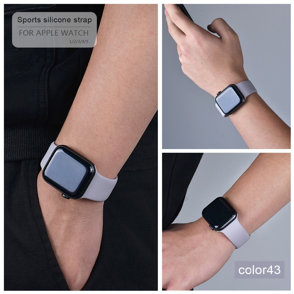 Soft Silicone Band for Apple Watch 88