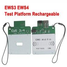 Plataforma de teste hotsell ews3 ews4 para bmw & para land rover capaz de testar eml chip eletrônico chave trabalhando ou não plataforma de teste ews