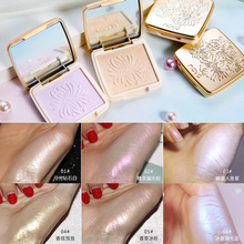 Shimmer Glow Highlighter Powder Palette Illuminator Makeup Bronzer Body Face Contour Highlight Maquiagem Cosmetic Brighten Skin недорого