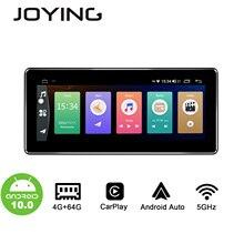 JOYING Android 10,0 Auto Radio 4GB RAM & 64GB ROM kopf einheit GPS universalstereo 8,8 inch/10,25 zoll 1280*480 IPS bildschirm mit 4G DSP