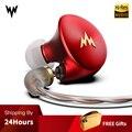 Whizzer A-HE03 Высокая гарнитура для водителя с высоким разрешением Ноулз арматура чистый звук металлический наушник штекер Высокая точность Муз...