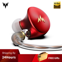 Whizzer A-HE03 High Fidelity Headset High Resolution Knowles Armature Clear Sound Metal Earplug Plug High Fidelity Music Headset(China)