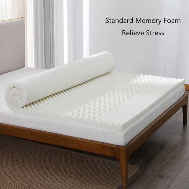 Mlily Memory Foam Mattress Toppper Cooling Gel Slow Rebound Mattress King Queen Full Twin Size Bedroom Furniture 2