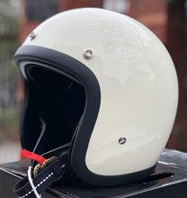 Japonês coreano tt & co verão casco capacete da motocicleta vintage cafe racer fibra de vidro escudo 3/4 rosto aberto capacete para homens
