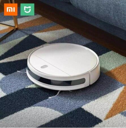 XIAOMI MIJIA Mi Menyapu Mengepel Robot Vacuum Cleaner G1 untuk Rumah Tanpa Kabel Cuci 2200PA Cyclone Suction Smart Direncanakan akses Internet Nirkabel