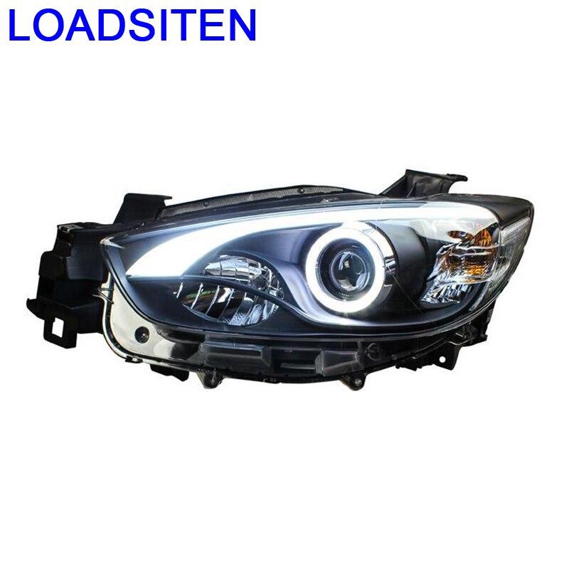 Extérieur Drl Luces Para Auto lumières pièces Led Automobiles Assessoires clignotant latéral voiture éclairage phares pour Mazda Cx-5