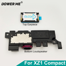 Dower Me Top Earpiece Ear Speaker With Adhesive Bottom Loudspeaker Buzzer Ringer Assembly For Sony Xperia XZ1 Compact XZ1c G8441