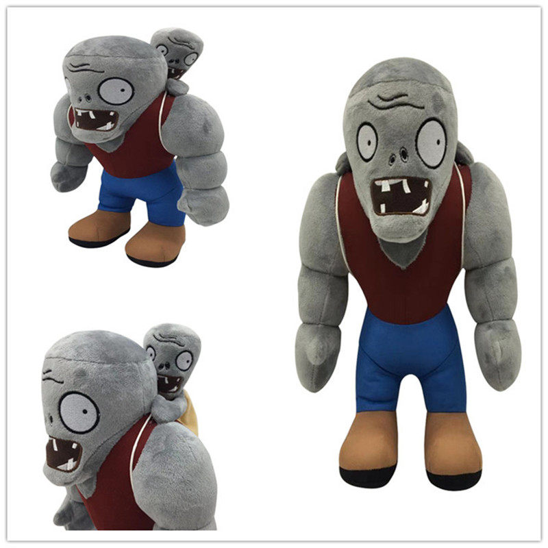 30cm Zombies plush doll Plants VS Zombies Game Doll Plush Toy Giant Zombie Soft Stuffed Zombies Toys