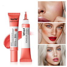 Facial Blusher Liquid Blush Cosmetic 4colors Long Lasting Natural Face Contour Makeup Brightens Skin TSLM1