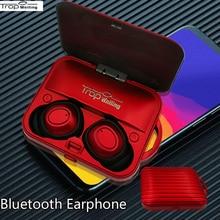 цена на Trop Weiling Bluetooth Earphones Wireless Headsets In Ear Tws Stereo Wireless Bluetooth Earphones Hifi Headphone for Smart Phone