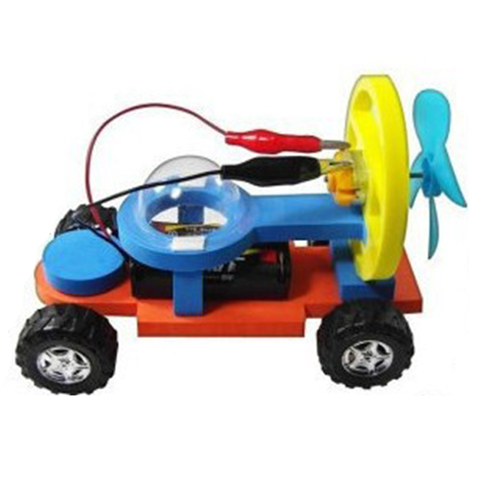DIY Model Building Kits Learning Kids Electric Science Boys Girls Technology Educational Toy Student Racing Car Set Logic