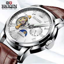 HAIQINQIN 2020 Men's Watches Top Brand Luxury Business Automatic Watch