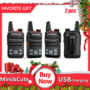 2pcs Baofeng BF-T99mini Walkie Talkie kids Portable Two Way Radio with USB charging Child Gift Transceiver