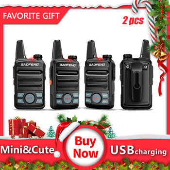 2pcs Baofeng  BF-T99mini Walkie Talkie kids Portable Two Way Radio with USB charging Child Gift Transceiver - discount item  37% OFF Walkie Talkie