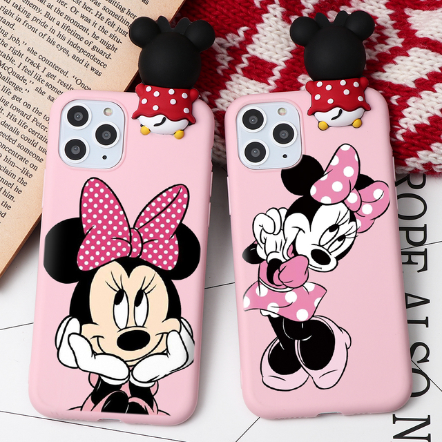 Cartoon Couple Fashion Case For iPhone XR 11 Pro XS Max X 5 5S Silicone Matte Cover For iphone 7 8 6 S 6S Plus 7Plus Case Girls 2