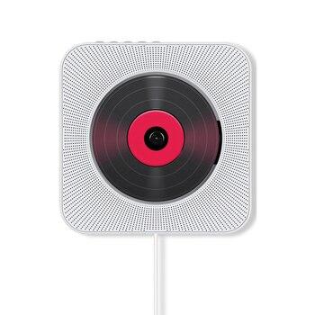 Wall-Mounted Bluetooth CD Player Bluetooth Prenatal Education Speaker Sounds Cd English Learning Machine (EU Plug)