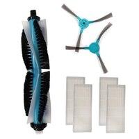 Roboter Staubsauger Filter Wichtigsten Pinsel Seite Pinsel Mopp für Conga 1390 1290 Serie Robotic Staubsauger Teile Zubehör-in Elektrische Heizung Teile aus Haushaltsgeräte bei