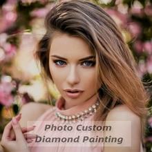 Diamond Embroidery Flower-Decor Animal-Picture Cross-Stitch Rhinestone Photo Custom Huacan 5d