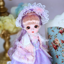 Blyth 1/6 BJD Princess doll Full Set girl 30cm 28 joint Nude body doll With long hair eyes clothes for girl gift toys toy gift free shipping 30cm doll 1 6 nude factory blyth doll 230bl1319 mint straight hair white skin joint body neo