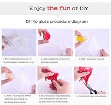 DIY Clear Lip Gloss Base Oil DIY Moisturizing Lipstick Material Base Gel for Lip Gloss Base Handmade Liquid Lipstick Makeup