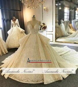 Image 2 - Amanda Novias Marke Hochzeit Kleid Fabrik Luxus Brautkleid
