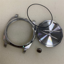 47MM Stainless Steel Watch Case Replacement Brushed Watch Shell for ETA 6497/6498 for ST3620 for Seagull ST3600 Movement