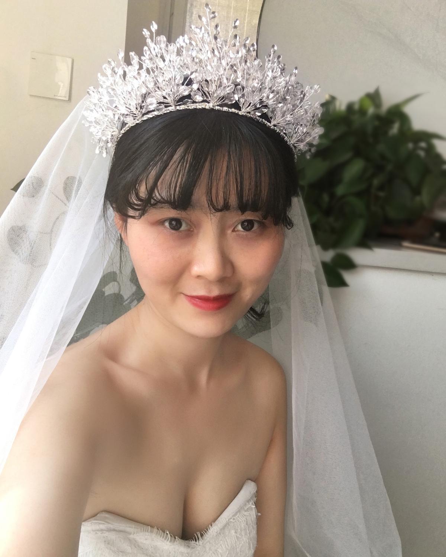 TOPQUEEN HP361 Luxury Wedding Tiara and Crown Wedding Hair Accessories Bridal Wedding Crown Hair Jewelry Bridal Headpiece Woman