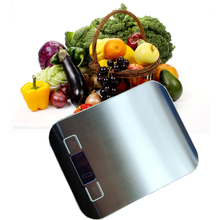 Professional Electronic Kitchen Digital Food Metal Weight Measuring Scale Grams Stainless Steel LCD Measure Tools Libra