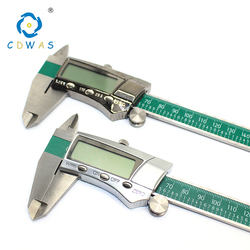Digital Display 0-150mm Stainless Steel Calipers Fraction/MM/Inch LCD Electronic Vernier Caliper High Quality Waterproof