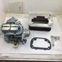 SherryBerg fajs CARB para Weber 32/36 DGAV Kit de carburador agua choque 2 barril filtro de aire (65mm de alto) para Suzuki Samurai 1985-89
