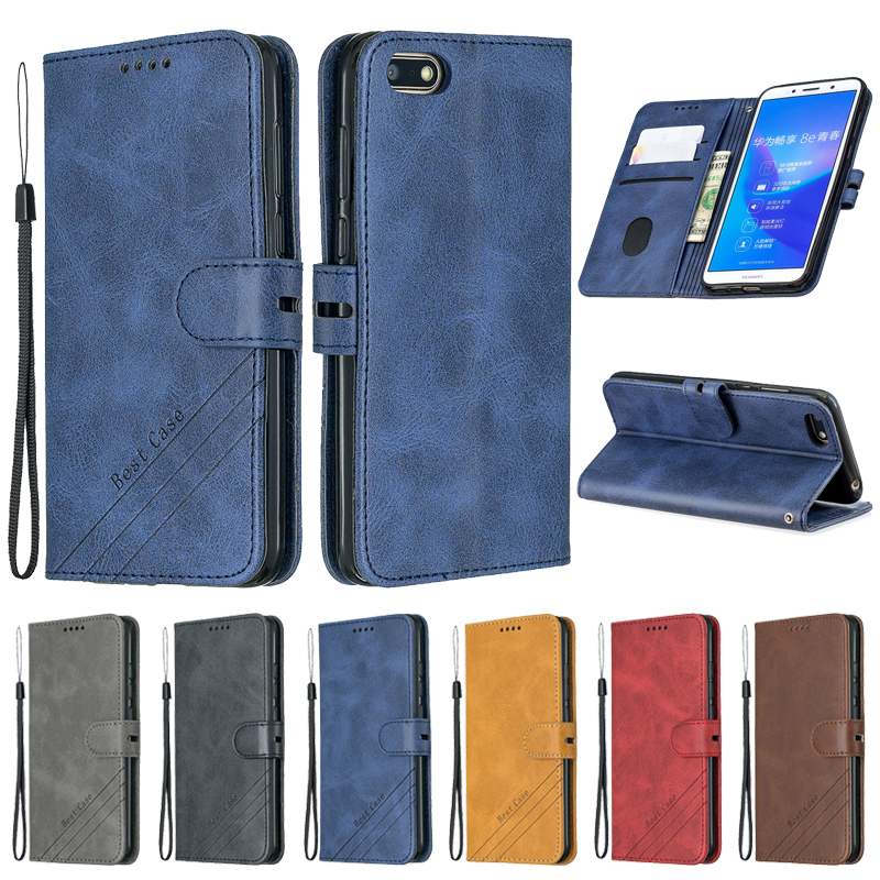 Huawei Y5 Lite 2018 Case Leather Flip Case For Huawei Y5 Lite 2018 DRA-LX5 Phone Case Y 5 lite 2018 Cover Y5 2019 Wallet Cover