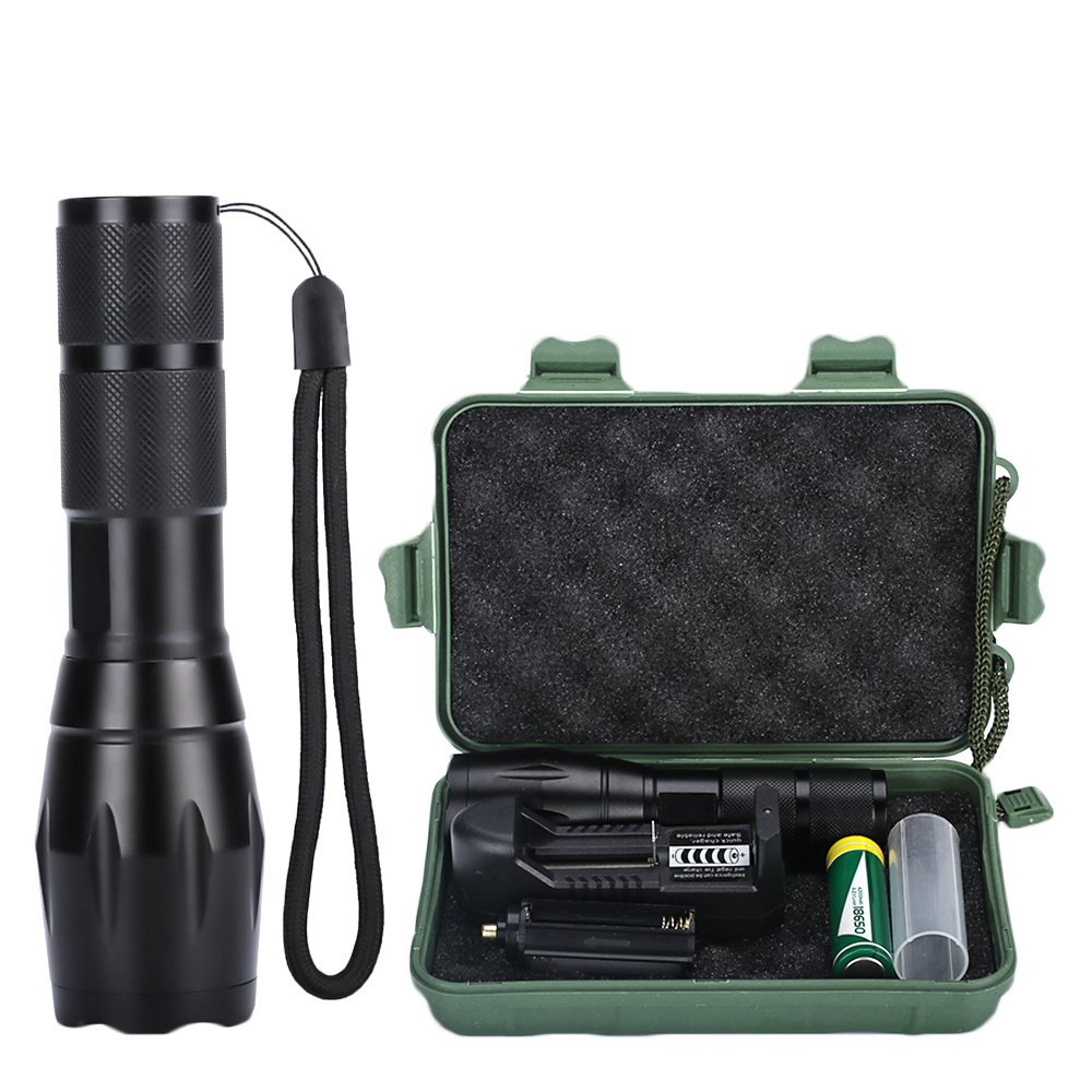 Hot Explosion Flashlight T6 Charging Zoom Mini Light Flashlight Led Flashlight