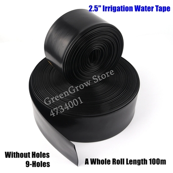 """50m 2.5"""" Φ63mm Agriculture Irrigation Watering Tape Garden Farm Water Saving Irrigation Tube Lawn Spray Water Hose Main Pipe"""