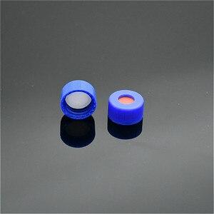 Image 4 - Trong suốt Sắc Ký Lọ 1.5ml Cho Ampe Polypropylene Mở Nắp Trắng PTFE/Đỏ Silicone Septa (Phá) 9mm 100/PK