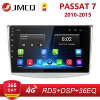 10 2G + 32G Android 8.1 4G NETTO RDS Radio Multimedia Video Player Per VW volkswagen Passat B7 B6 2010-2015 Magotan CC DSP
