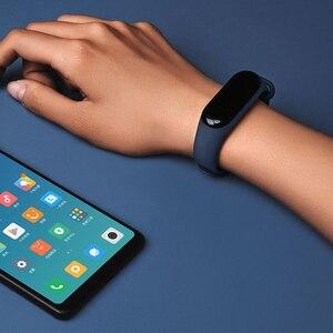 Image 5 - Xiaomi Mi bande 3 Version mondiale Bracelet de suivi de forme physique OLED écran moniteur de fréquence cardiaque Bracelet bande